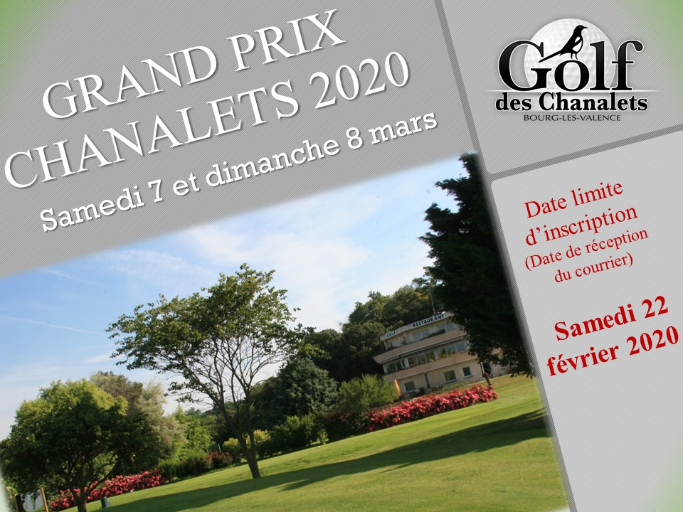 Grand Prix Chanalets, 7 & 8 Mars 2020