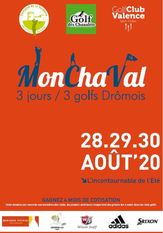 Golf Chanalets, Golf Club de Valence Saint Didier et Domaine de la Valdaine